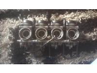 Late model Gsxr600 srad carburettors