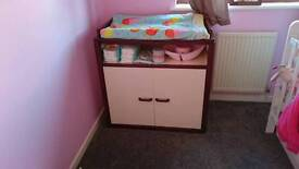 Marks and Spencers baby changing table