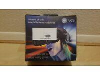 New Premium Goji VR 3D headset with detachable speakers RRP £19