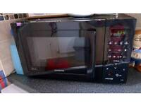 Microwave plus built in oven an grill