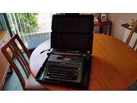 Silver reed 500 typewriter.
