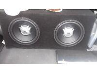 JBL GT5 12'S subwoofers