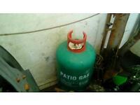 Bottle of gas
