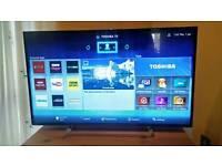 "Toshiba 47"" Smart Television"