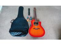 Lorenzo Bowl Back Electro Acoustic Guitar