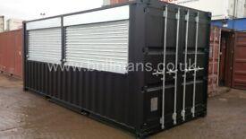 Mobile Bar / Mobile Kiosk Shipping container – 20ft