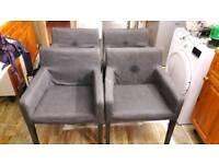 Ikea NILS chairs x 4