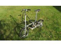 Vintage Dahon folding bike {Bickerton by Dahon} Sturmey Archer 3 Speed ~ 1988 Vintage.