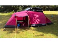 OEX Coyote 3, 3-man red tent, only used twice