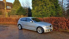2006 BMW 120D M SPORT SILVER 5 DOOR HATCHBACK 2 KEYS LOADS OF HISTORY BARGAIN
