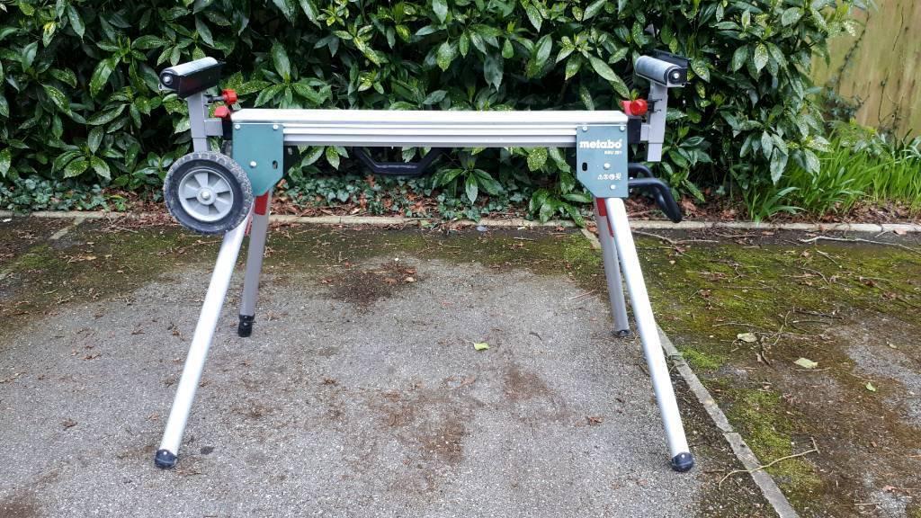 Metabo KSU251 Universal Extendible Mitre Saw Stand