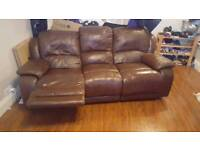2 and 3 seater reclinging sofas