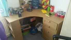 corner study desk table