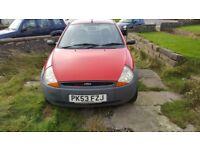 Ford KA - 1.3 - 2003 (53 Plate) - Red - Petrol - Manual