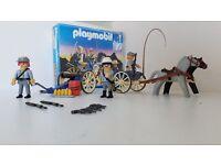 Playmobil 3784 Confederates and gun carriage