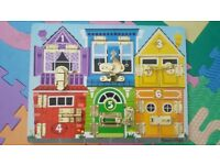 Melissa and Doug Latches Board / Activity Board