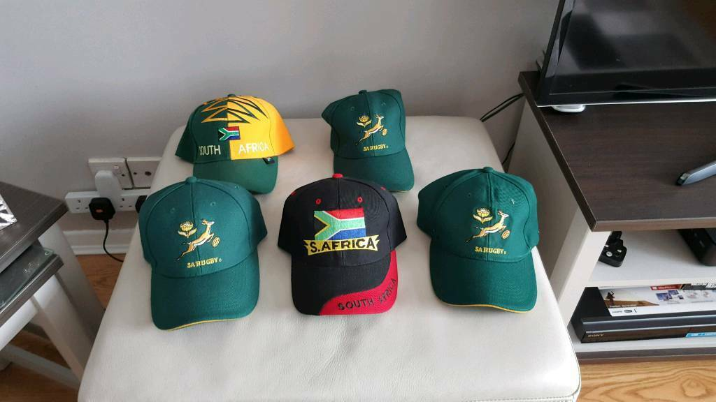 South African rugby hats and jacket  5bbe3eb261e
