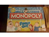 Family Guy Monopoly-New
