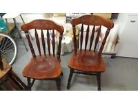 4 wooden chairs for sale