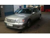 Lexus LS400 Saloon Automatic Luxury Classic Silver 2000 Excellent Condition Swap or Sell