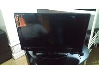 37 inch lcd tv hdmi freeview no remote but buttons on side