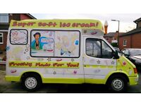 Soft Ice Cream Van Carpigiani Machine Full Cowl LEZ Compliant