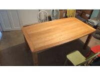 John Lewis Dining Room Table 6 to 8 seater