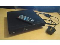 Bush DVD Player with remote control HDMI and Scart connections