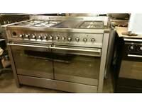 Smeg 120cm dual fuel range cooker