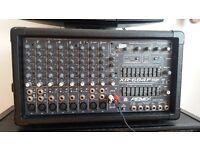 Peavey-xr-684f 400w PA plus 2x OHM-MR228 Speakers plus cables.