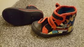 Fireman sam shoes, size 6, brandnew