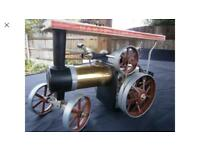 Mamod te1a with choice of trailer model steam traction engine wilesco