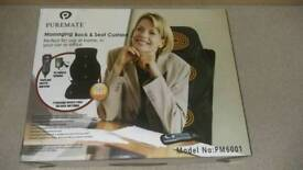 Massaging Back and Seat Cushion with Heat