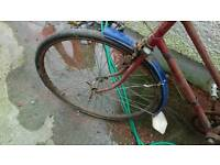 Old fashion 3 speed bike