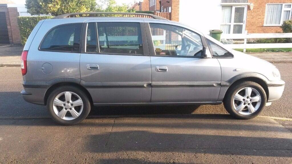 2004 Vauxhall Zafira Energy 16v 7 Seater