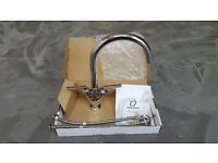Kitchen Quarter Turn Mixer Tap in Chrome - Neptune Branded - Brand New and in Original Packaging