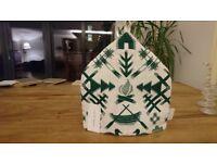 Nordic designer tea cosy, 100% hemp