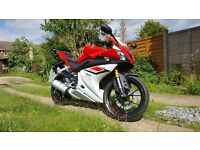 2015 65 YAMAHA YZF R125 ABS-low mileage