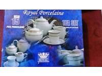 15 piece porcelain tea ☕ set
