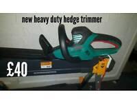 Nrw heavy duty hedge trimmer