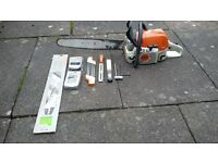 stihl chainsaw +acessories