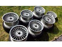 7 x RARE 19 inch Genuine Alpina Classic Alloys by Ronal BMW 5 series E39 E46 E60 E90 E92 M3 M5