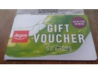 Argos Voucher £300 for £280