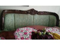 Antique style sofa and two armchairs