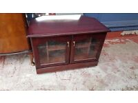 Vintage TV Unit with Shelves in Excellent Condition