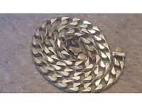 BARGAIN SOLID STERLING SIVER 22 INCH CHAIN BARGAIN AT ONLY £200