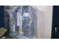 Empty clear plastic CD cases (59)
