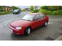 Hyundai accent 1.3 5 door hatchback with only 60000 miles