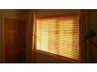 Set Of 3 High Quality Solid Wood Venetian Window Blinds