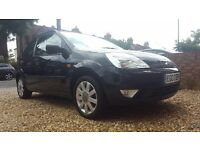 Ford fiesta black special edition with leather, ideal first car/small cheap tax - Not TD, Focus etc